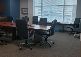 Thrasher of Canton, Ohio - conference room.