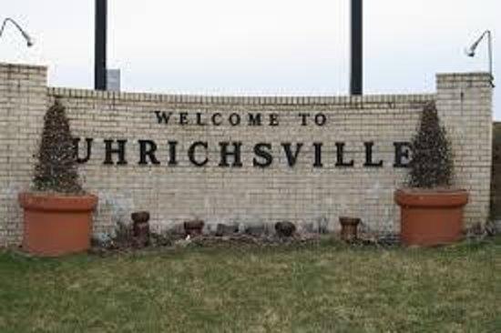 Uhrichsville Welcome Sign
